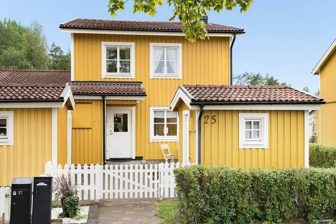 Bild: 5 rum radhus på Björnfällsvägen 25, Västerås kommun Södra Gryta