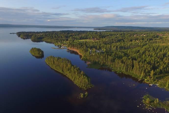 Bild: tomt på Sjögårdarna 21-36, Leksands kommun Tällbergs Sjögårdar Södra