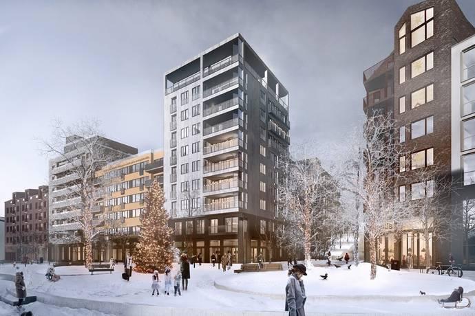 Bild: 3 rum bostadsrätt på Järla östra skolväg 23, Nacka kommun