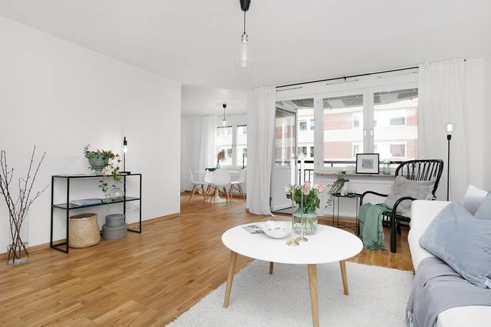 Bild: 3 rum bostadsrätt på Magnus Ladulåsgatan 9, 4 tr, Stockholms kommun Södermalm