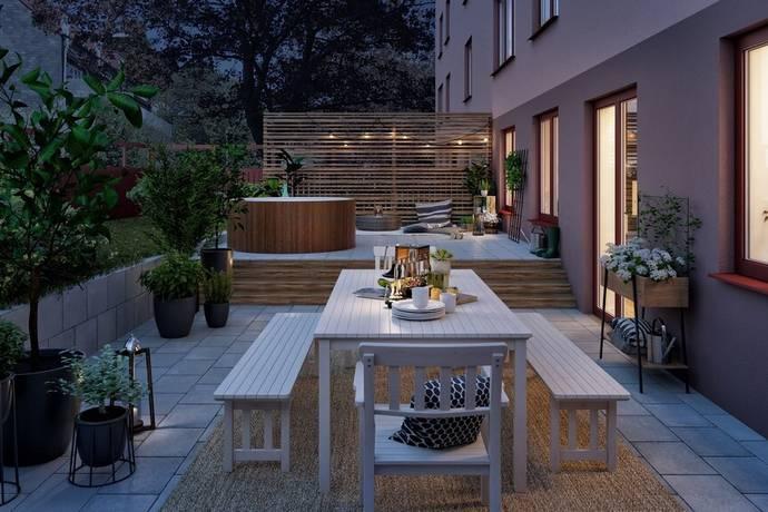 Bild: 2 rum bostadsrätt på Schlytersvägen 59, Stockholms kommun Aspudden