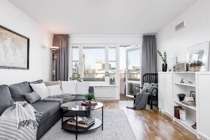 Bild: 2 rum bostadsrätt på Väderkvarnsgatan 19A, Uppsala kommun Höganäs/Centrum