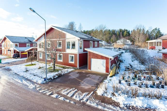 Bild: 4 rum radhus på Lundagårdsgatan  25B, Forshaga kommun Lundagård