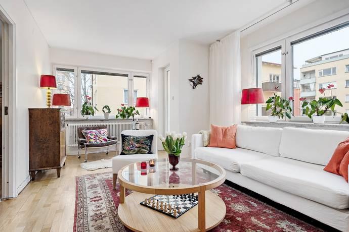 Bild: 3 rum bostadsrätt på Vattugatan 23, Sundbybergs kommun Centrala Sundbyberg