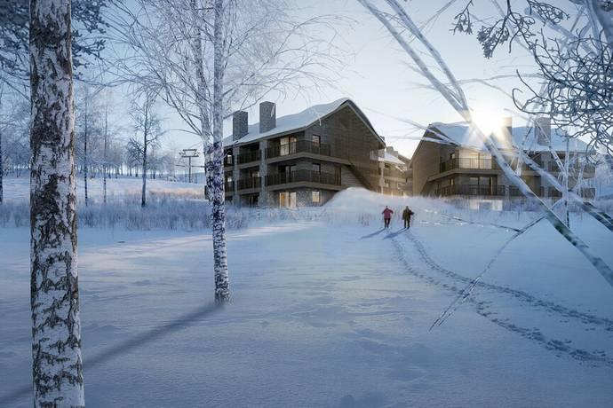 Bild från Sälfjällstoppen 2 - Sälfjällstoppen 2 - Bästa läge med Ski in ski out högt upp på Sälfjällstorget/Lindvallen
