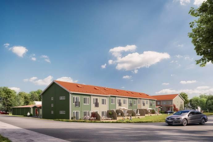 Bild: 4 rum radhus på Pingstgatan, Skellefteå kommun