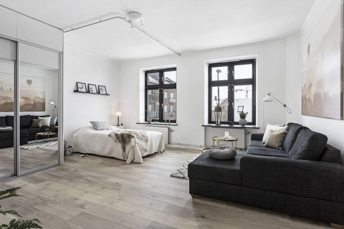 Bild: 1 rum bostadsrätt på Glasbruksgatan 1D, Malmö kommun Limhamn