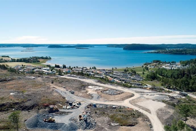 Bild från Lanesund/utby - Överbyhöjd vid Lanesund Etapp 1