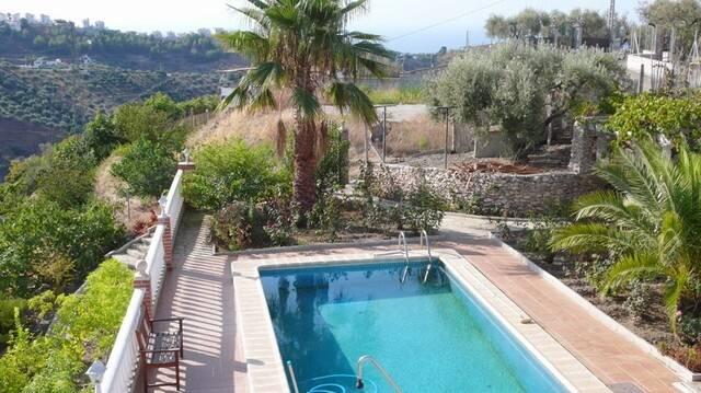 Bild: 4 rum villa på Härlig villa på landsbygden, Frigiliana, Spanien Frigiliana