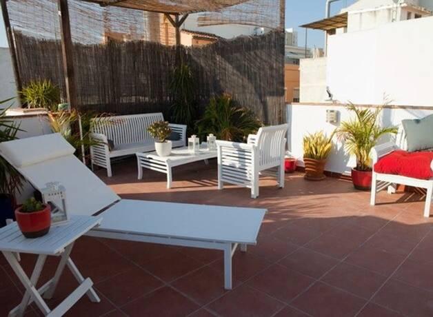 Bild: 4 rum bostadsrätt på MALAGA  Historic Center, Spanien Costa del Sol