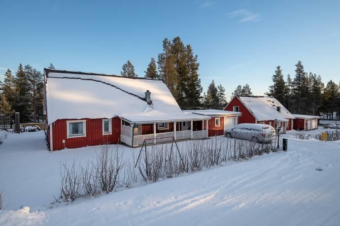Bild: 5 rum villa på Rälsläggarvägen 4, Gällivare kommun Mellanområdet