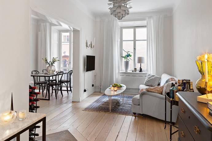 Bild: 2 rum bostadsrätt på Riddargatan 29 C, Stockholms kommun Östermalm - invid Strandvägen