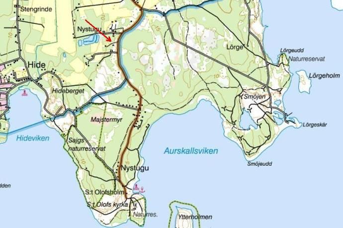 Bild: tomt på Hellvi Nystugu 608, Gotlands kommun S:t Olofsholm - Norra Gotland