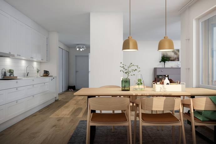 Bild: 4 rum bostadsrätt på Brf Klövern, Täby kommun Täby Park