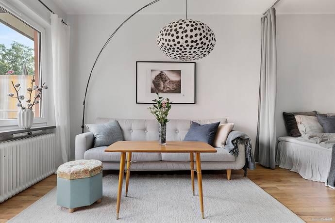 Bild: 1,5 rum bostadsrätt på Svartbäcksgatan 76A, Uppsala kommun Svartbäcken