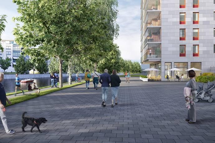 Bild: 2 rum bostadsrätt på Brandmannagatan 7A, Linköpings kommun Centralt Linköping