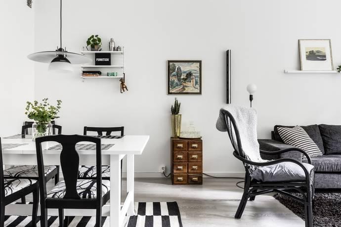 Bild: 1,5 rum bostadsrätt på Engelbrektsgatan 9, Linköpings kommun Centralt/Vasastaden