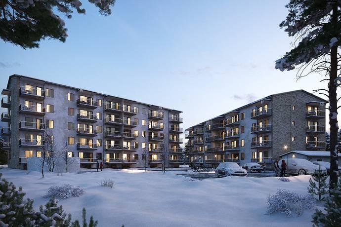 Bild från Brf Skidskytten i Östersund