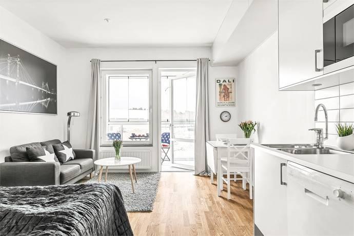 Bild: 1 rum bostadsrätt på Hägerneholmsvägen 6B våning 2 , Täby kommun Hägerneholm, Arninge-Ullna