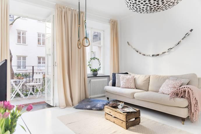 Bild: 2,5 rum bostadsrätt på Roslagsgatan 36 B, Stockholms kommun Vasastan