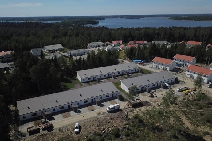 Bild från BRF Sandas Pärla - Pinassvägen och Koggvägen