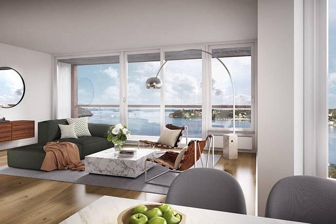 Bild: 2 rum bostadsrätt på Semaforvägen, Nacka kommun Telegrafberget