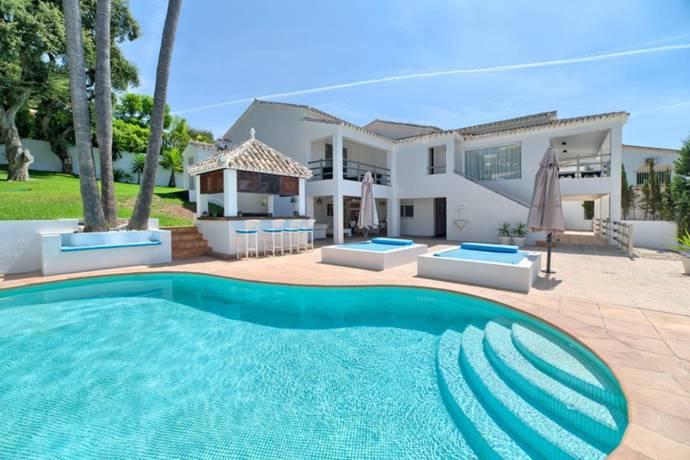 Bild: 6 rum villa på Costa del Sol, El Rosario - Marbella, Spanien