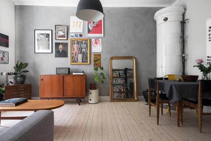 Bild: 3 rum bostadsrätt på Kocksgatan 41, Stockholms kommun Södermalm- SoFo
