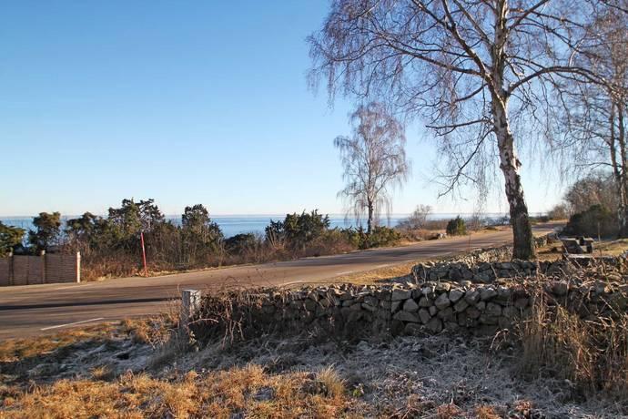 Bild: tomt på Kattviksvägen, Båstads kommun Kattvik