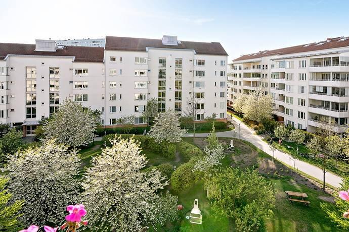 Bild: 2 rum bostadsrätt på Slottsvägen 2, 5tr, Solna kommun Haga Norra