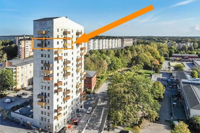 Bild: 4 rum bostadsrätt på Källtorpsvägen 11, vån 13, Järfälla kommun Kallhäll