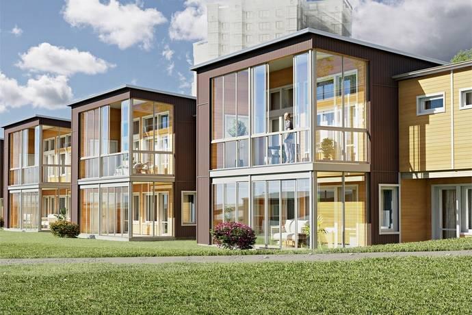 Bild: 5 rum villa på Honnörsgatan 70, Luleå kommun Lulsundsberget