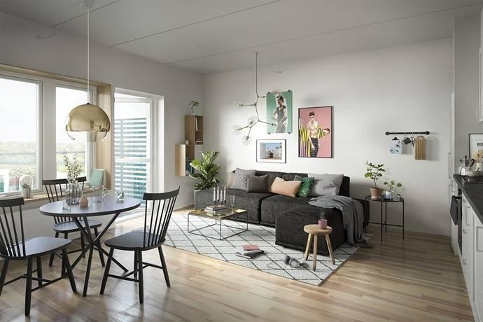 Bild: 2 rum bostadsrätt på Finalgatan 15, Lunds kommun