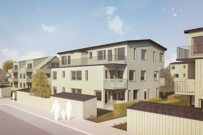 Bild: 4 rum bostadsrätt på Mejselgränd 12, Trosa kommun TROSA