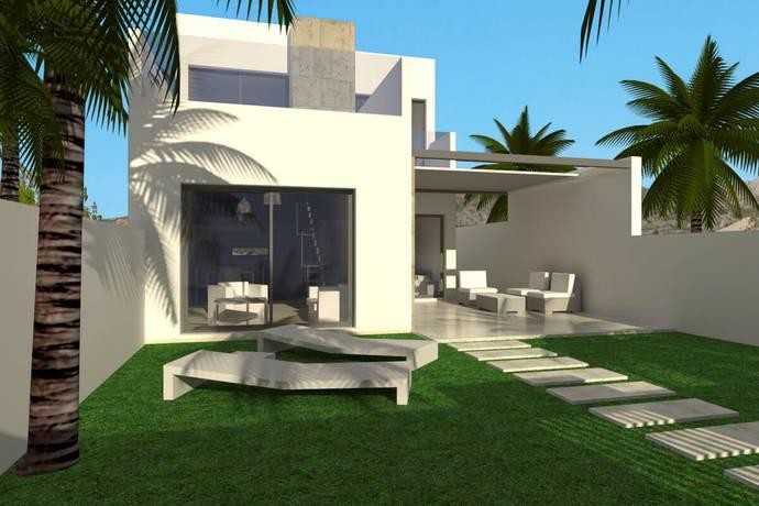 Bild: 4 rum villa på Moderna villor i bostadsområde, Spanien Benijofar - Costa Blanca