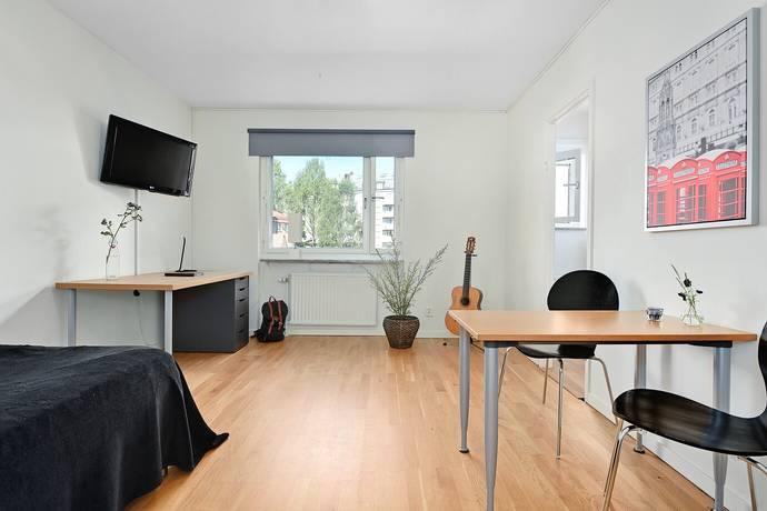 Bild: 1 rum bostadsrätt på Järnvägsallén 16 D, Umeå kommun Centrum
