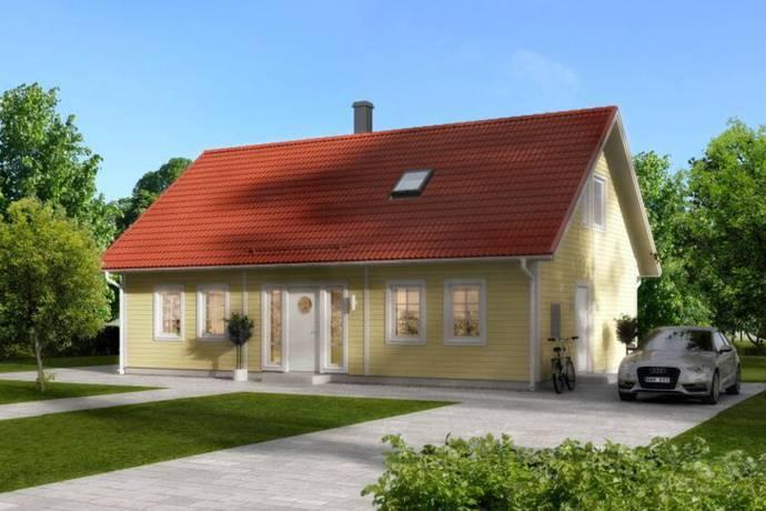Bild: villa på Dunhammarvägen 17, Karlshamns kommun