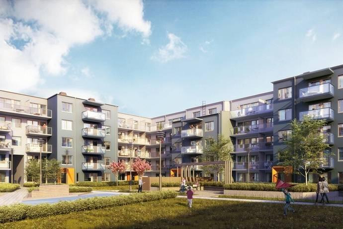 Bild: 2 rum bostadsrätt på Lansengatan 1, Järfälla kommun Barkarbystaden