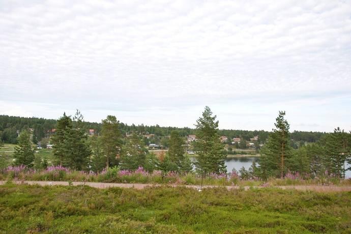 Bild: tomt på Västerlandet 212, Kramfors kommun