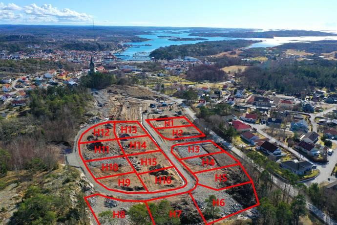 Bild från Anneberg - Byggklar tomt i ny exploaterat villaområde på Anneberg i Grebbestad!