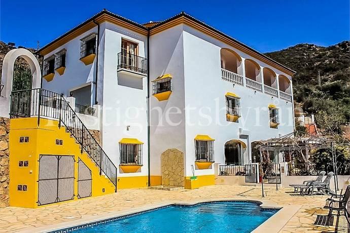Bild: 8 rum villa på Villa med pool, Spanien La Viñuela   Costa del Sol