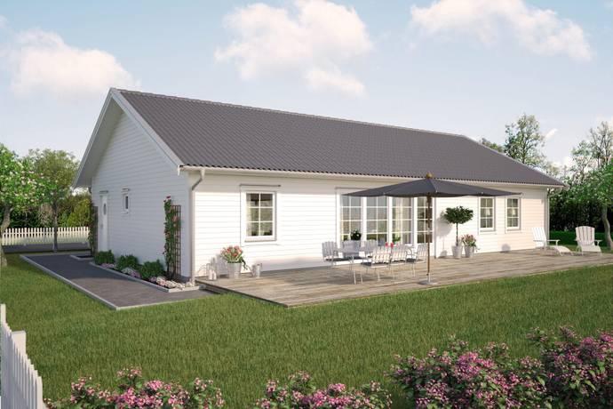 Bild: 6 rum villa på Vitabergsvägen 30, Falkenbergs kommun