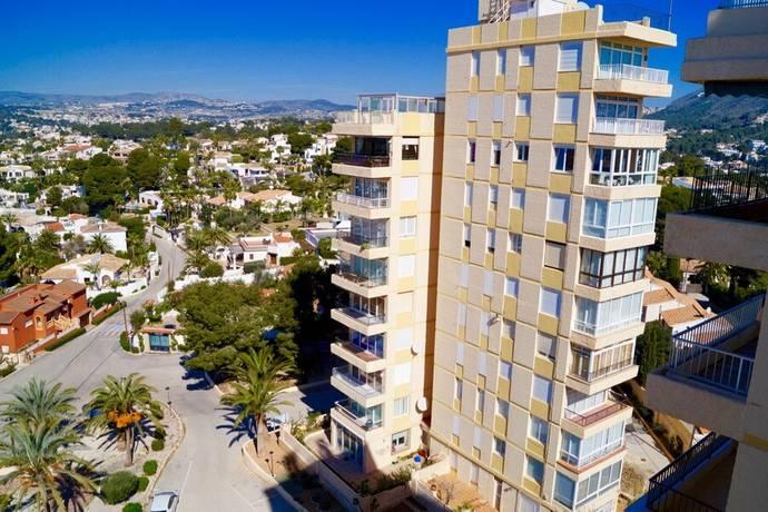 Bild: 100 m² bostadsrätt på Takvåning med en fantastisk panoramautsikt mot hav, Spanien