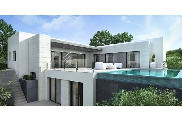 Bild: 4 rum villa på Nu kan vi erbjuda denna lyxiga nyproducerade 2-plans villa i Moraira, Spanien COSTA BLANCA - MORAIRA