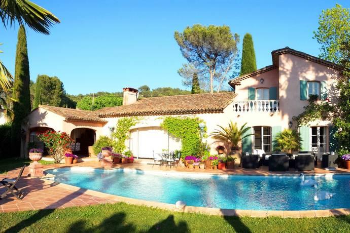 Bild: 160 m² villa på grasse, Frankrike Franska Rivieran