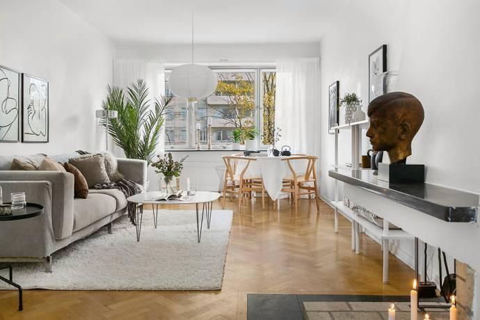 Bild: 2 rum bostadsrätt på Palmstedtsgatan 3B, Göteborgs kommun Johanneberg