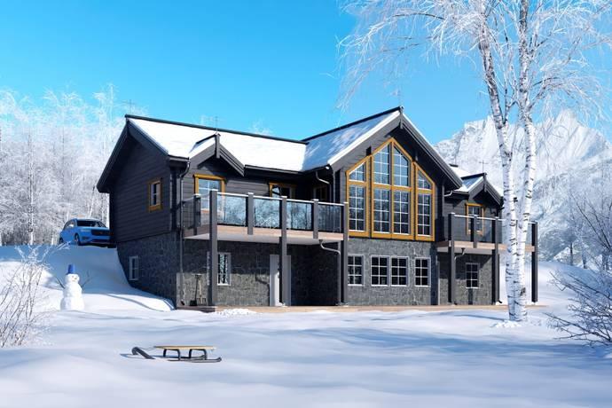Bild: tomt på Wikbacken, Åre Sadeln, Åre kommun Åre Sadeln