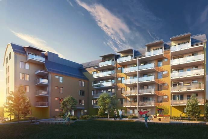 Bild: bostadsrätt på Mariehöjd 3, Umeå kommun Mariehöjd