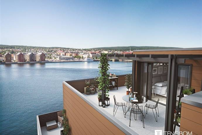 Bild: 5 rum bostadsrätt på Ångaregatan 3 - 1501, Sundsvalls kommun Norra Kajen