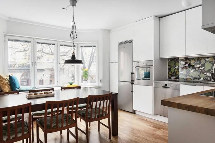 Bild: 3 rum bostadsrätt på Fleminggatan 57, 1 tr, Stockholms kommun Kungsholmen